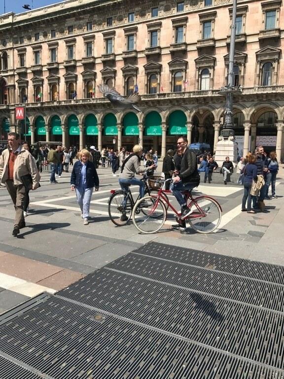 Rower w mieście, ścieżka rowerowa