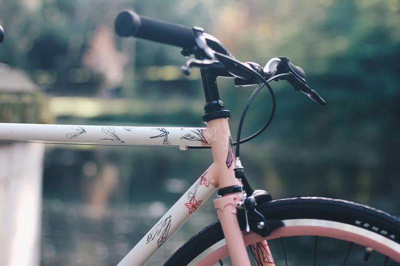 Wybierz kolor jaki chcesz - Twój rower na zamówienie. Antymateria Made in Warszawa