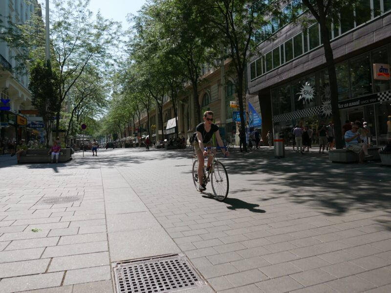 Rowerem pomieście - Wiedeń