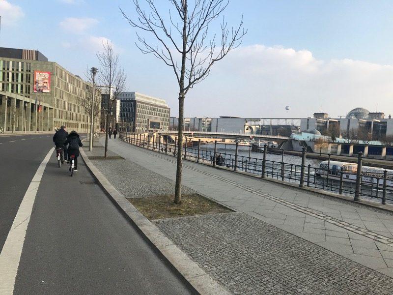 Berlin narowerze, ścieżka rowerowa