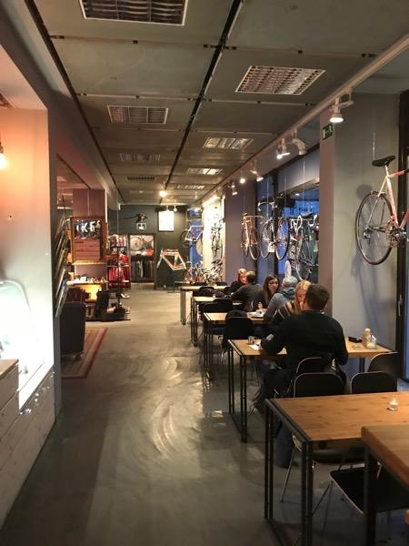 Berlin narowerze Bike Cafe Berlin