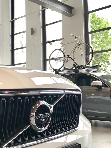 Rower Antymateria samochód VOLVO
