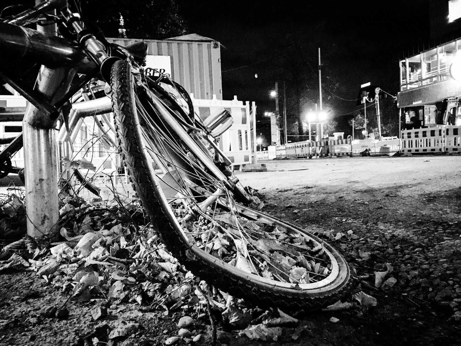 Rower wypadek na rowerze
