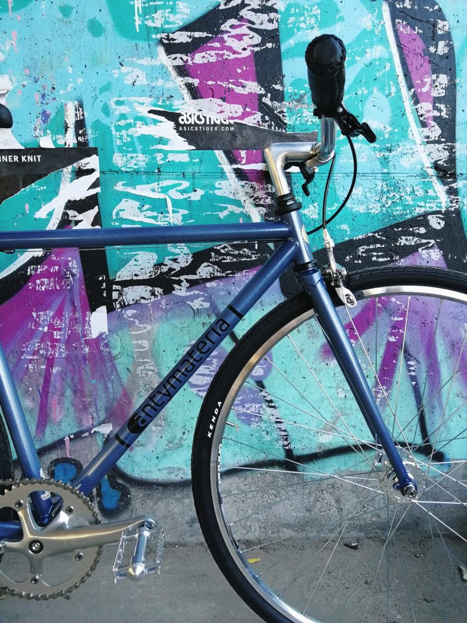 Rower niebieski single