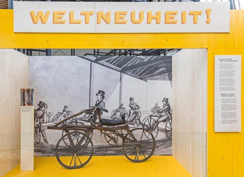 Maszyna biegowa historia roweru