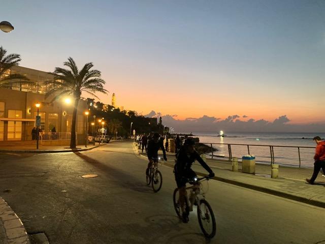 Tel Aviv na rowerze