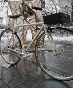 kremowy single speed