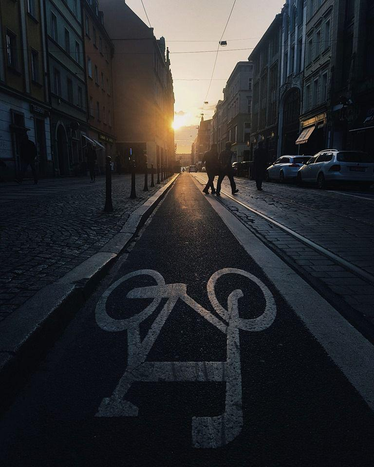ścieżka rowerowa wewrocławiu