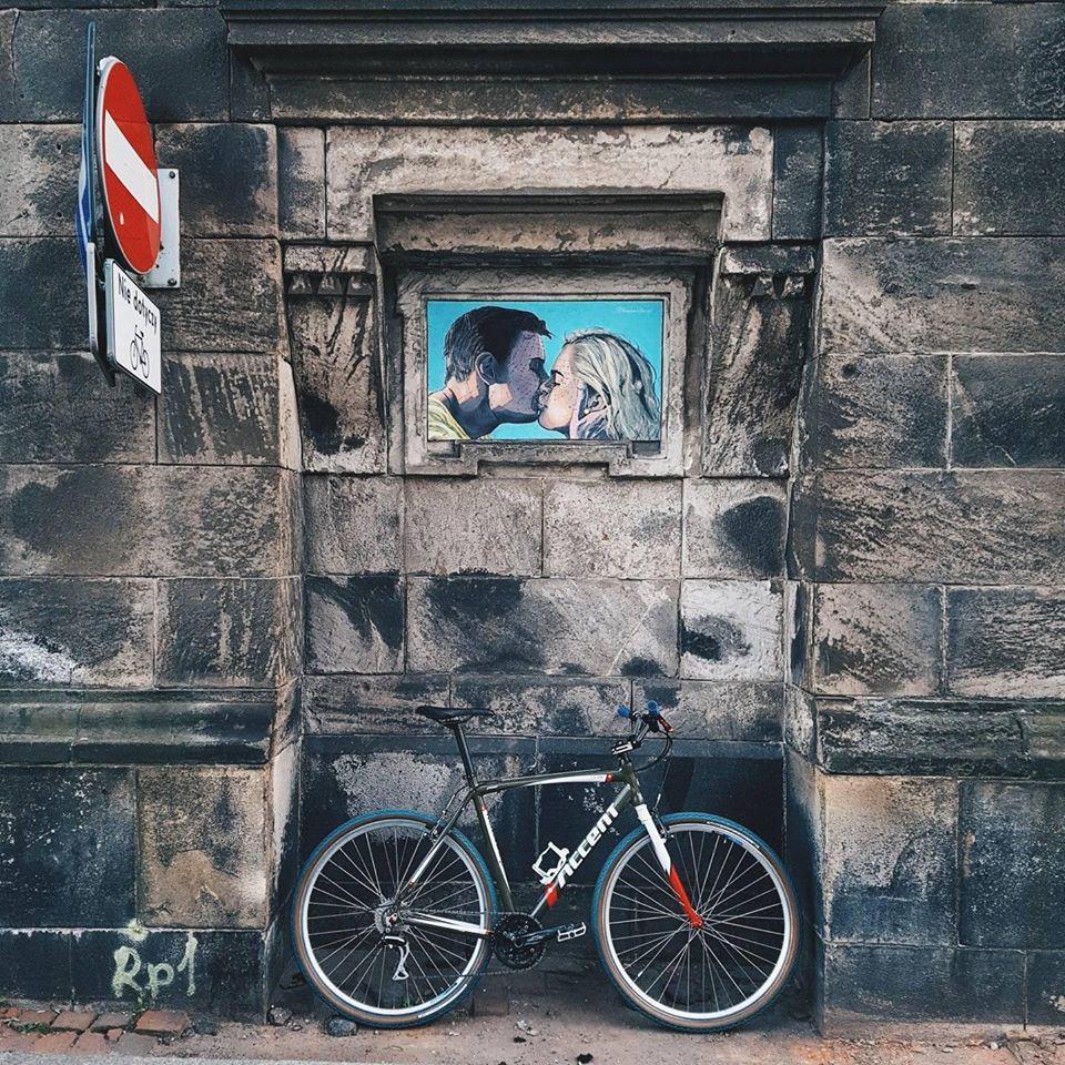 rower natle muru wewrocławiu
