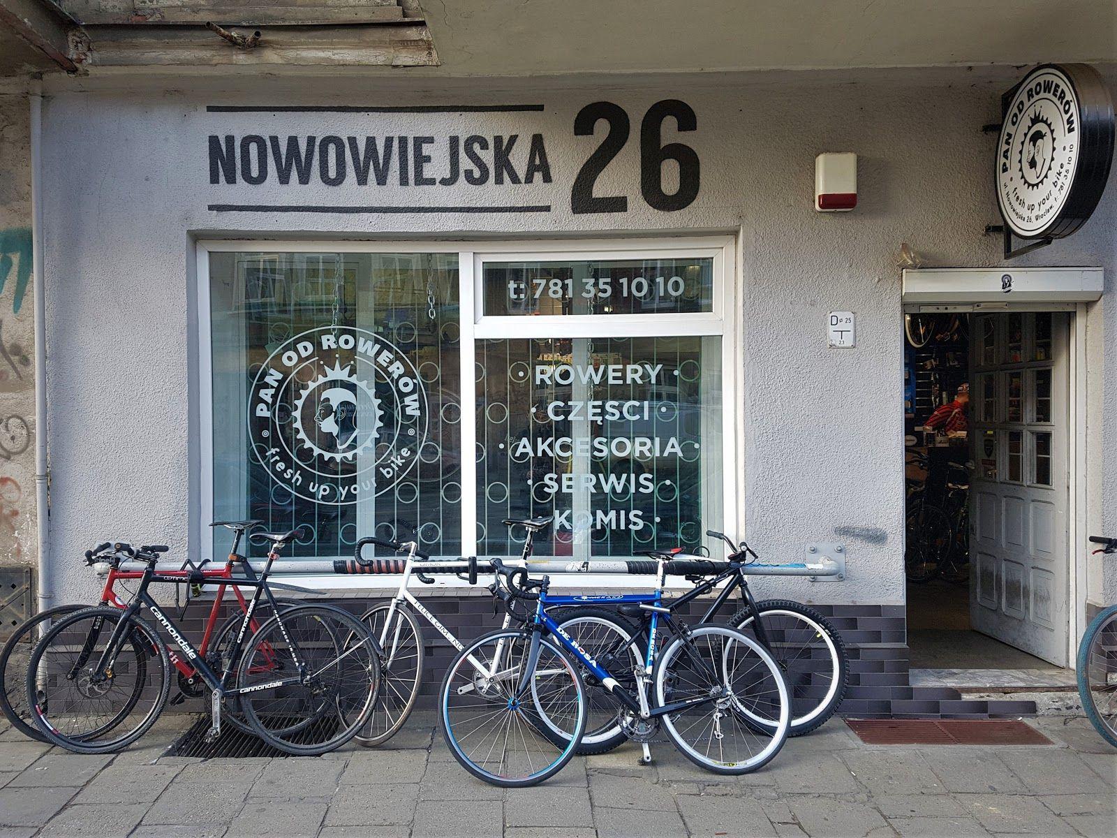 witryna sklepu rowerowego