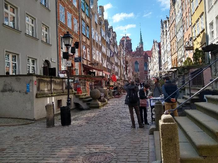 ulica mariacka wgdańsku