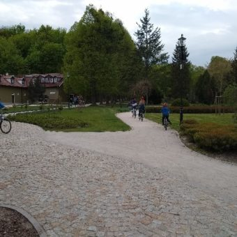 park oruński rower