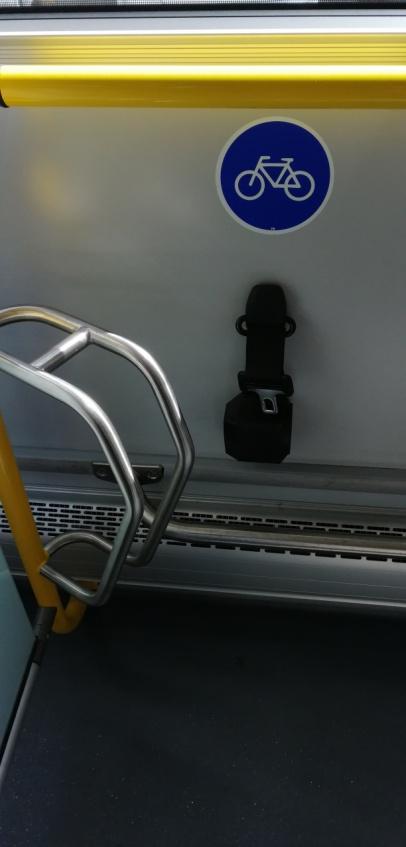 rower wkomunikacji miejskiej