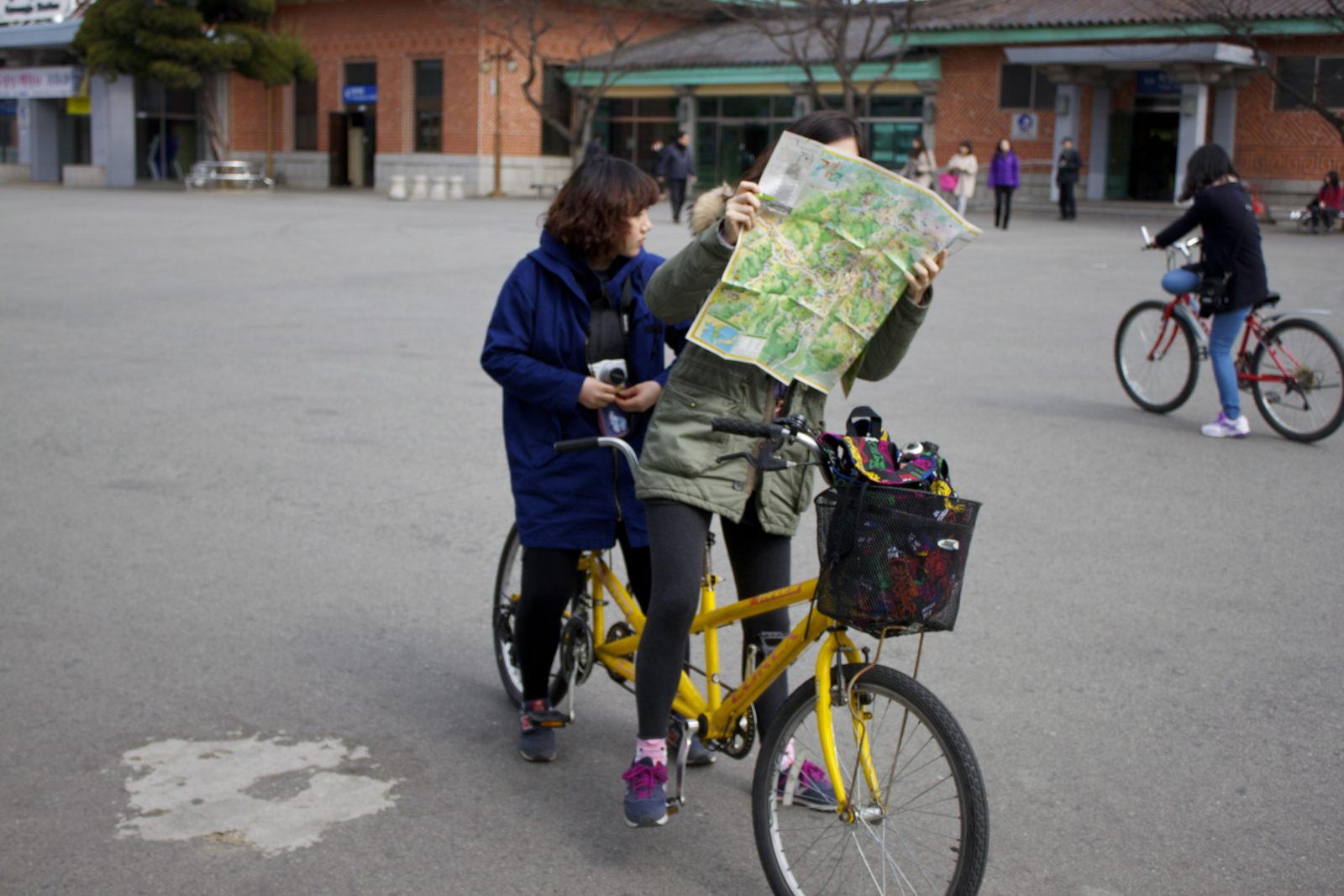 Wyznaczanie trasy na rowerze