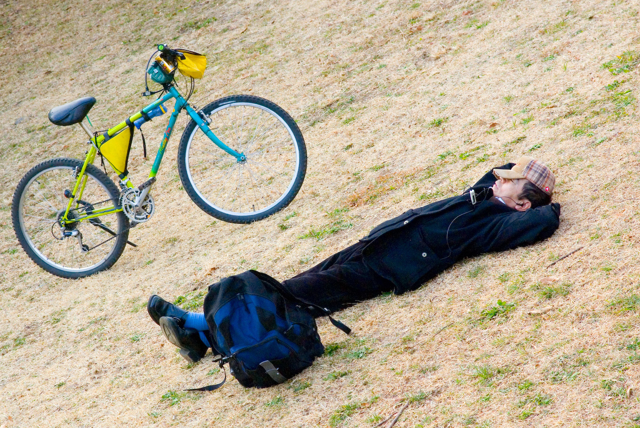 sen o rowerze
