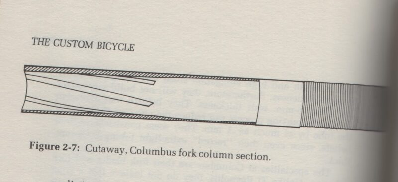 Columbus steering tube