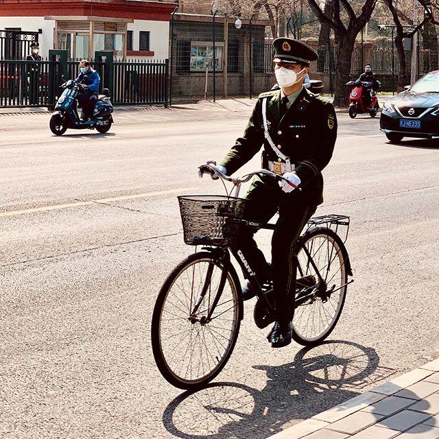 Koronawirus. Jazda na rowerze.