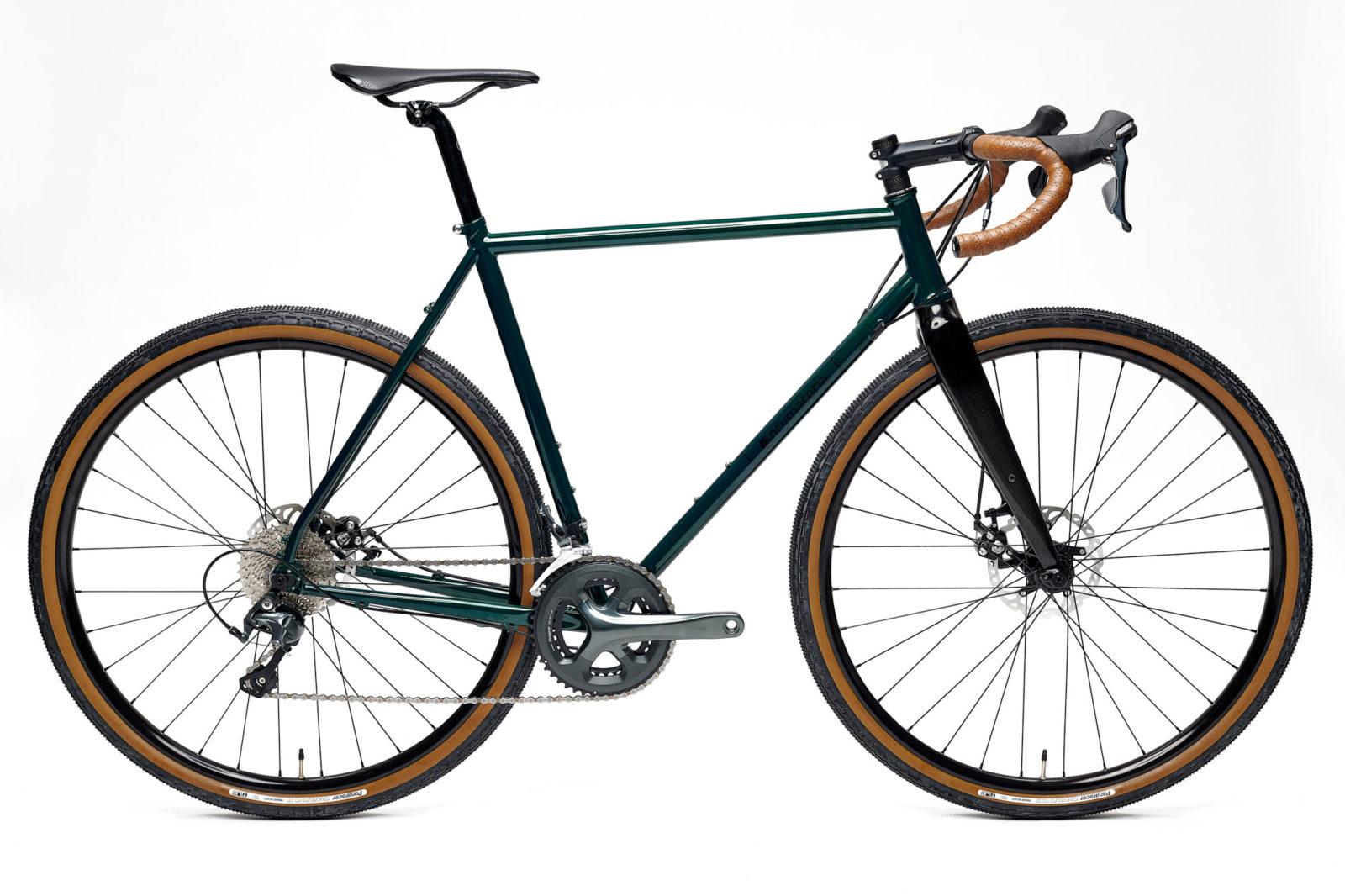 Stalowy rower gravel