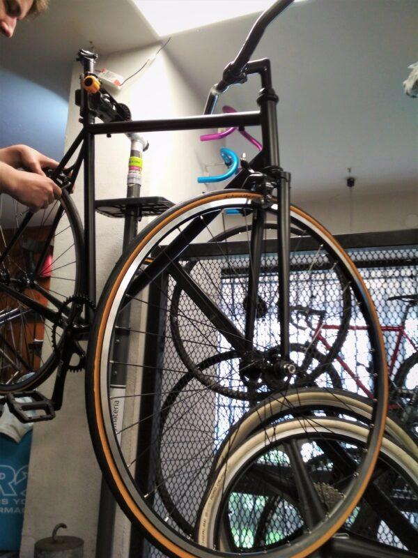 Składanie roweru