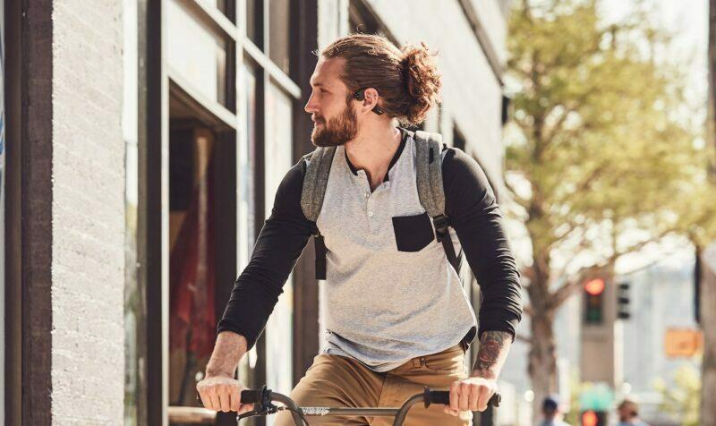 Słuchawki rowerowe Aftershokz