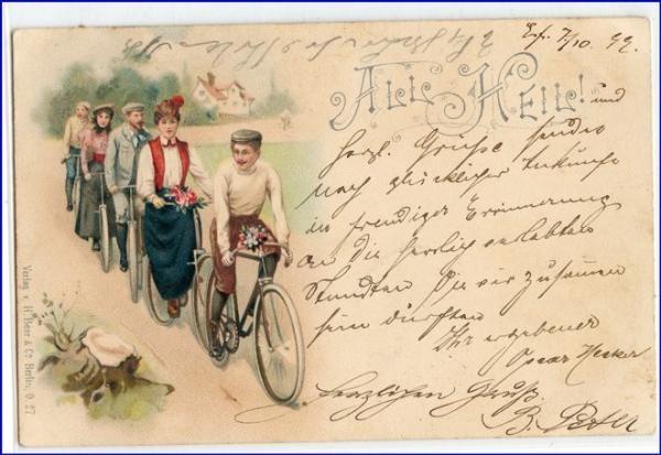 Olsztyn rowery przedII Wojną Światową