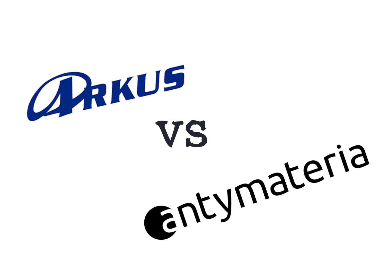 Damka Arkus vs Antymateria
