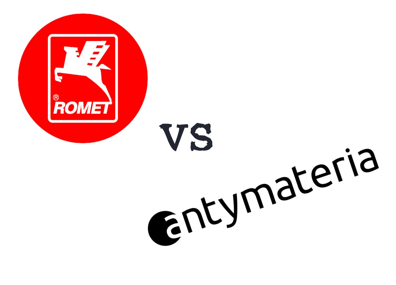 Damka Romet vs damka Antymateria