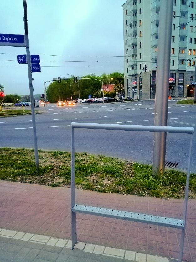 ulica w elblągu