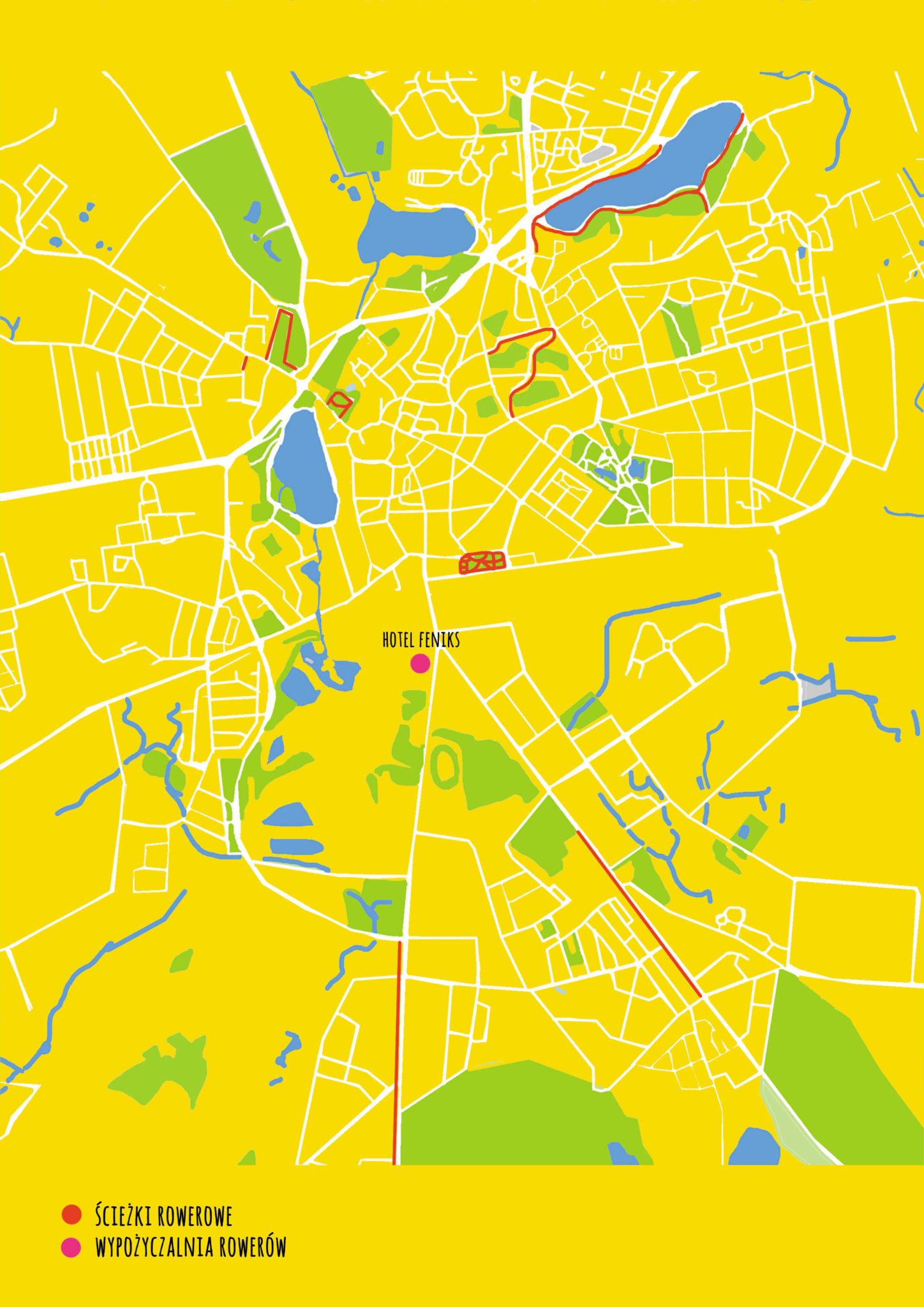 ścieżki rowerowe w Gnieźnie