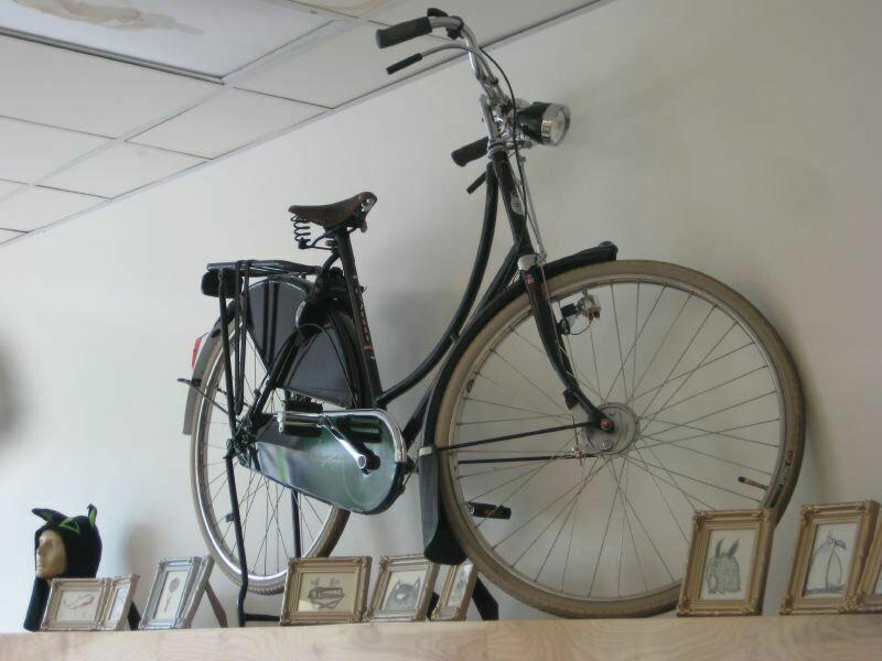 Wieszak na rower, a może stojak?