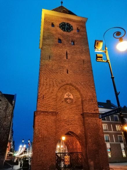 wieża targowa elbląg